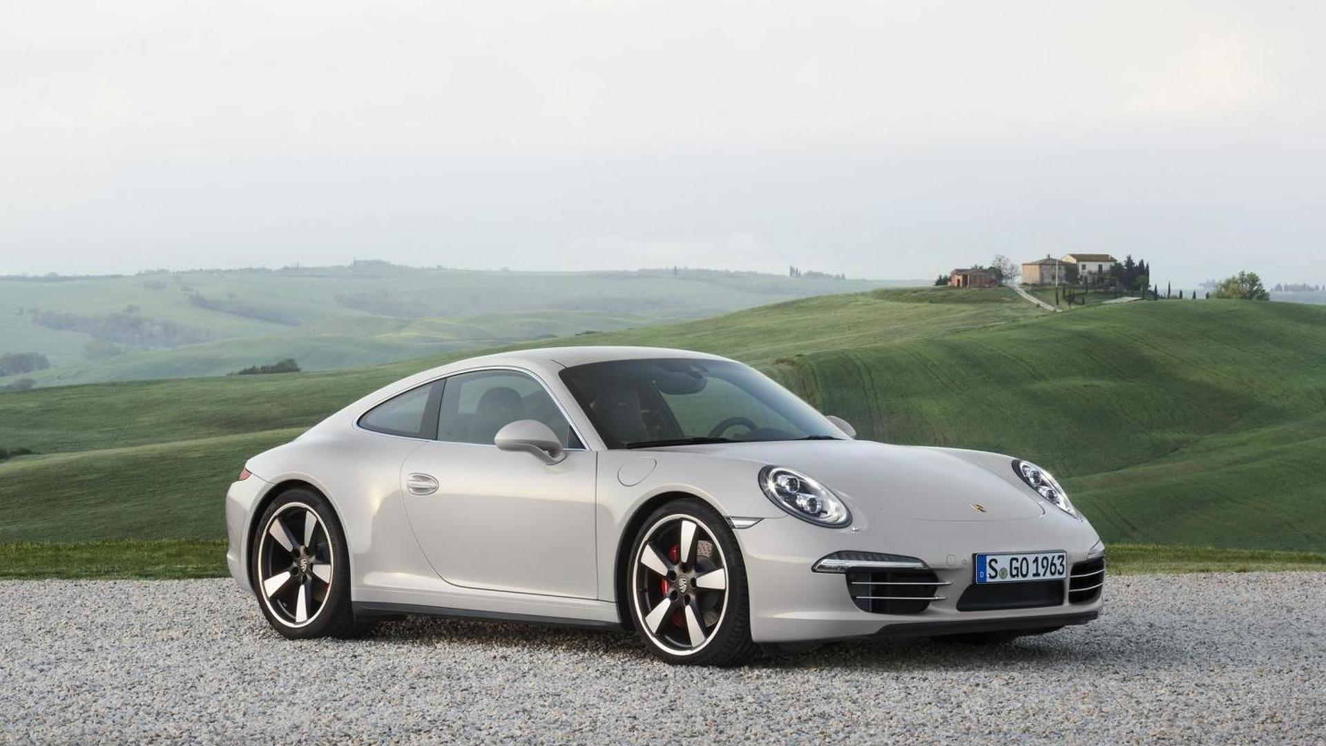 Porsche 911 50th anniversary package announced
