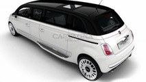 Castagna Milano Fiat 500 stretch limo is fit for a president