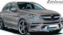 Lorinser previews tuning package for Mercedes M-Class