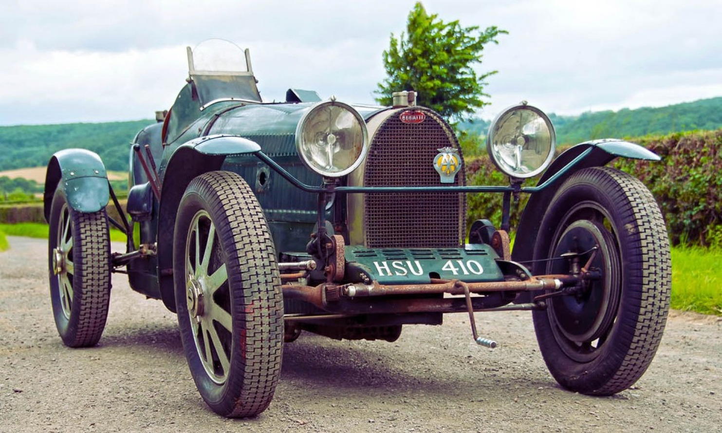 Bugatti Type 51 Replica Left to Die Fetches £270,000 at Auction