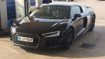 New Audi R8 photographed in the metal in Sweden