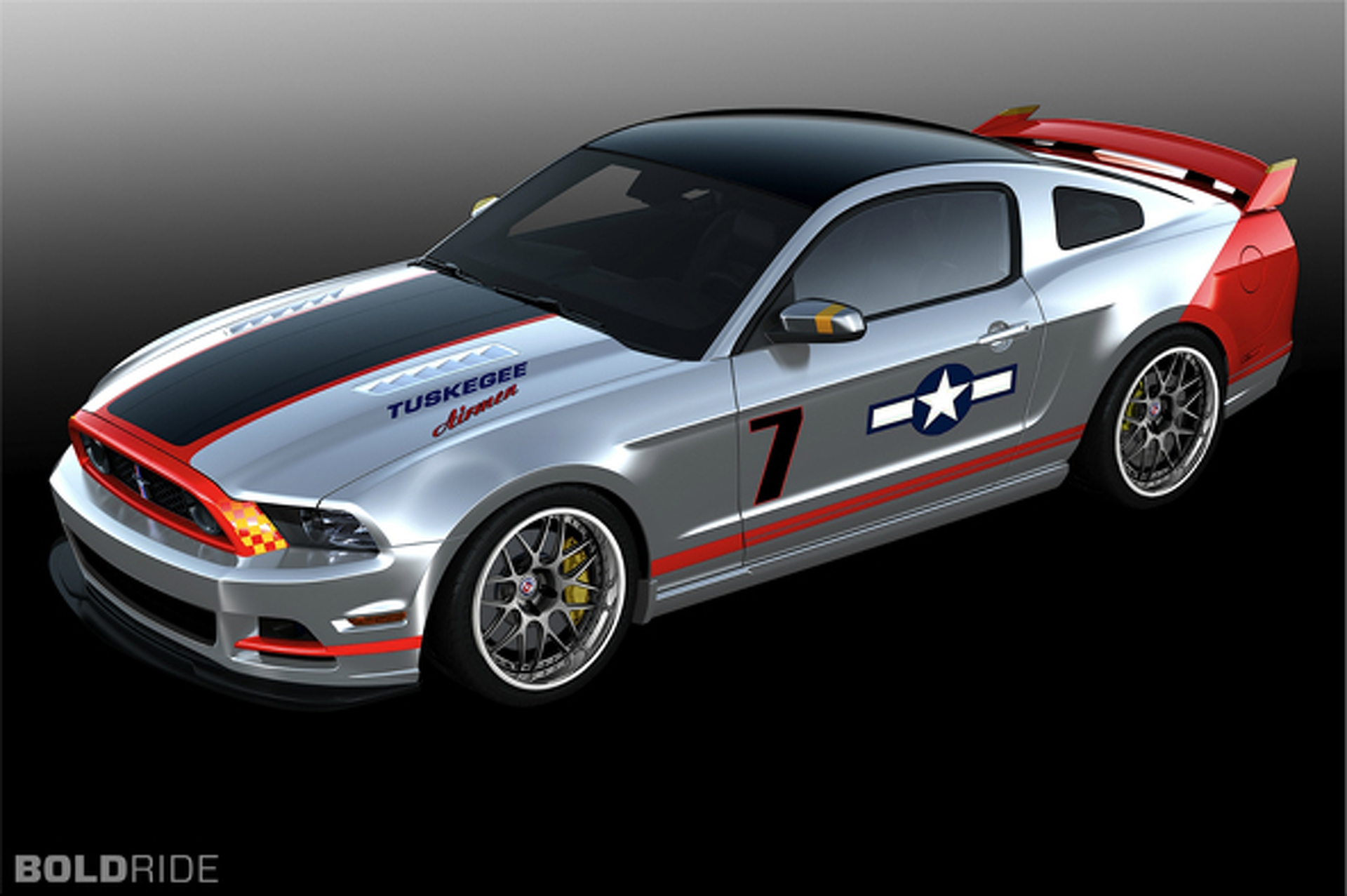 Most Popular: 2013 Ford Mustang Red Tails Edition