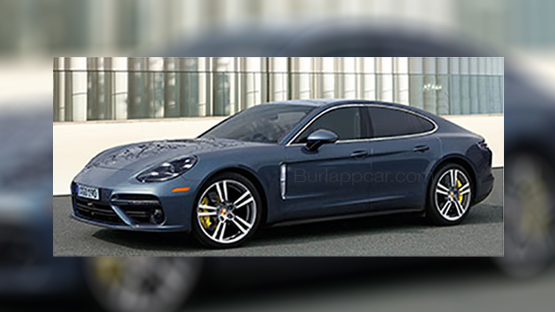 is this the all new 2017 porsche panamera. Black Bedroom Furniture Sets. Home Design Ideas