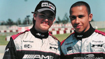 Retro: When Hamilton and Rosberg got along as teammates