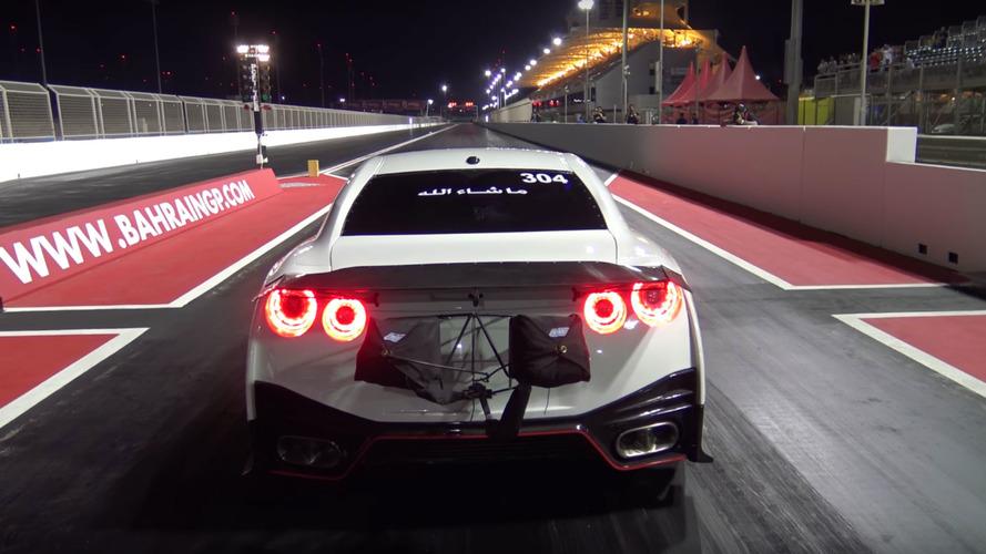 VIDÉO - Cette Nissan GT-R bat le record du monde du 1/4 mile !