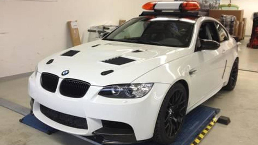 2012 BMW M3 DTM safety car revealed