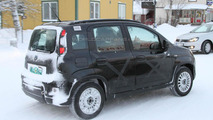 2012 Fiat Panda 4x4 winter testing spy photo