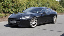 Aston Martin Rapide facelift spied 24.8.2012