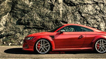 Audi TT RS rendered with aggressive looks