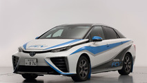 Toyota FCV rally car revealed for the Japanese Rally Championship