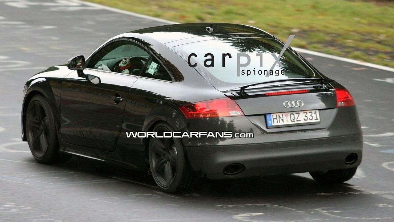 Audi TT-RS spied