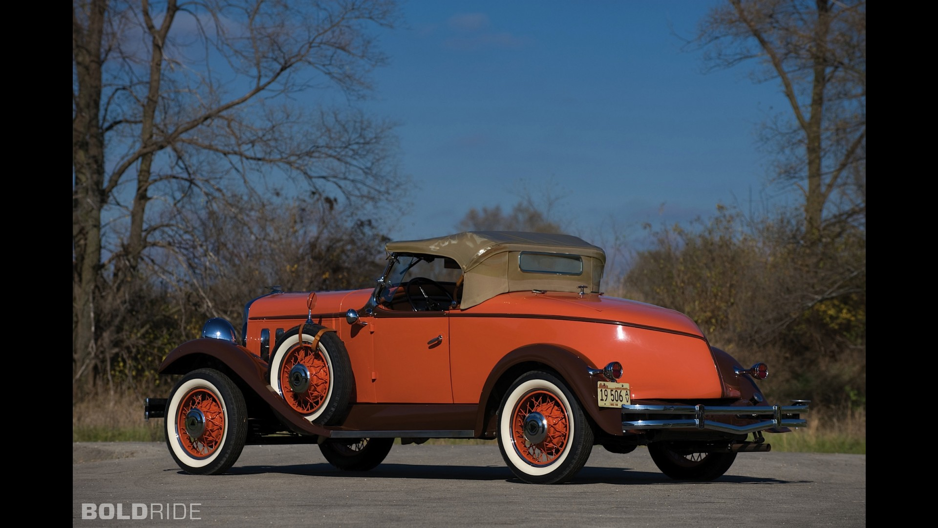 Hudson Greater Eight Boat-Tailed Sport Roadster