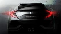 Honda Civic hatchback prototype heading to Geneva