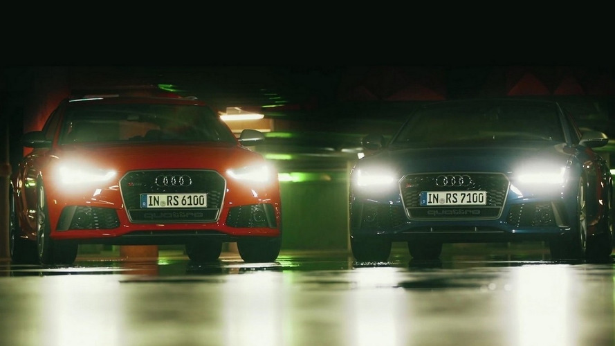 Audi RS6 Avant and RS7 Sportback performance video debut