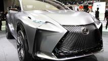 Lexus LF-NX Turbo at Tokyo Motor Show