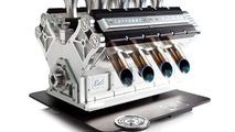 Espresso Veloce Serie Titanio V8 coffee machine