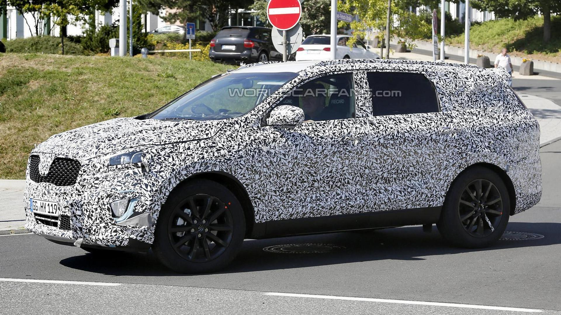 Next-gen Kia Sorento spied for the first time