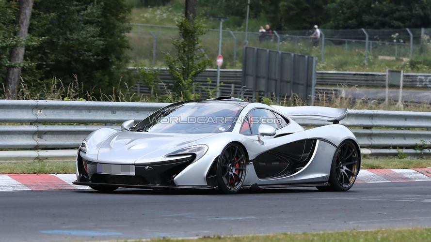 McLaren P1 returns to the Ring to beat the Porsche 918 Spyder's record