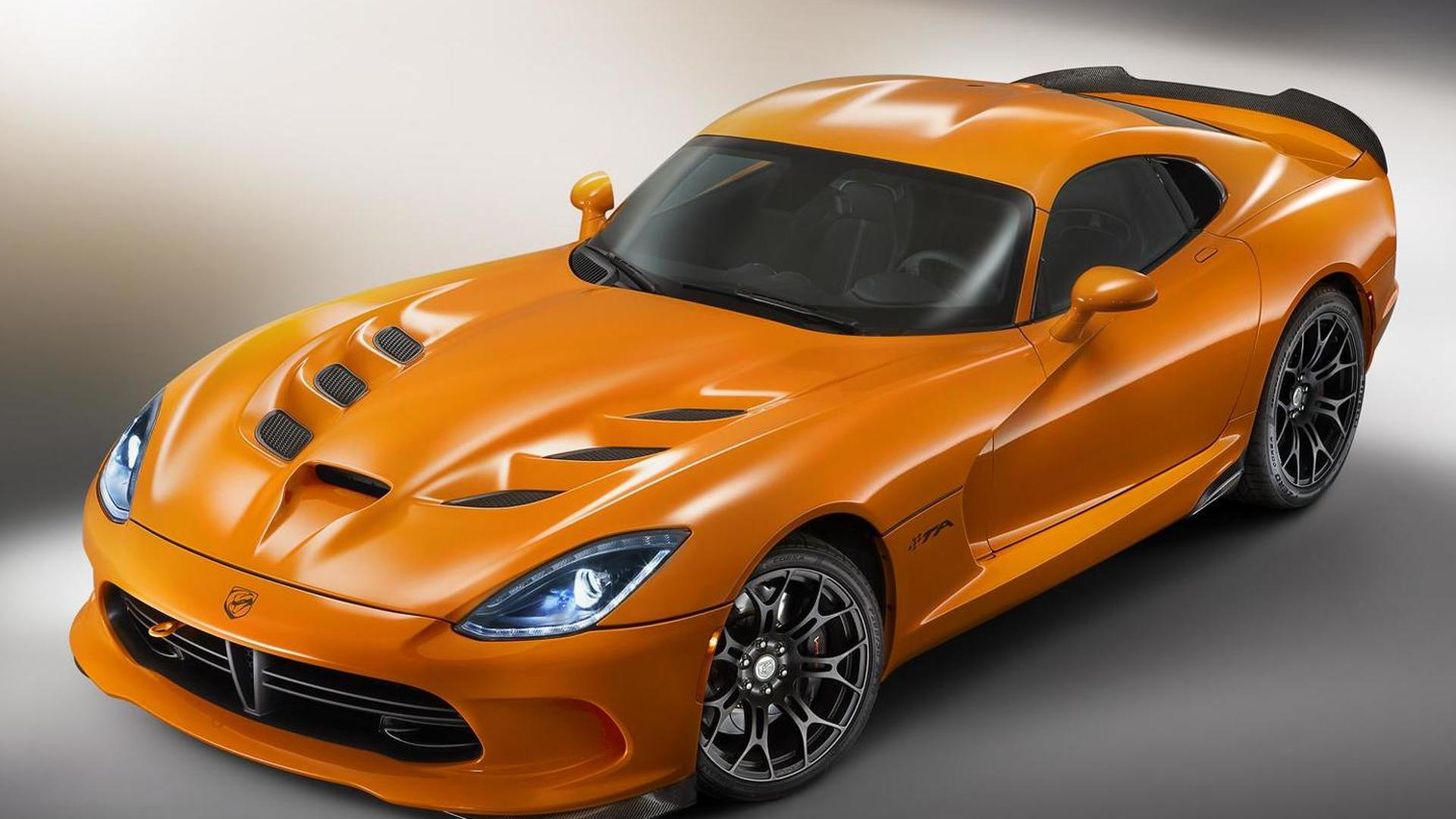 SRT details the 2014 Viper Time Attack, limited to 159 units