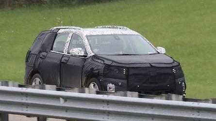 2018 Chevrolet Equinox spy photos