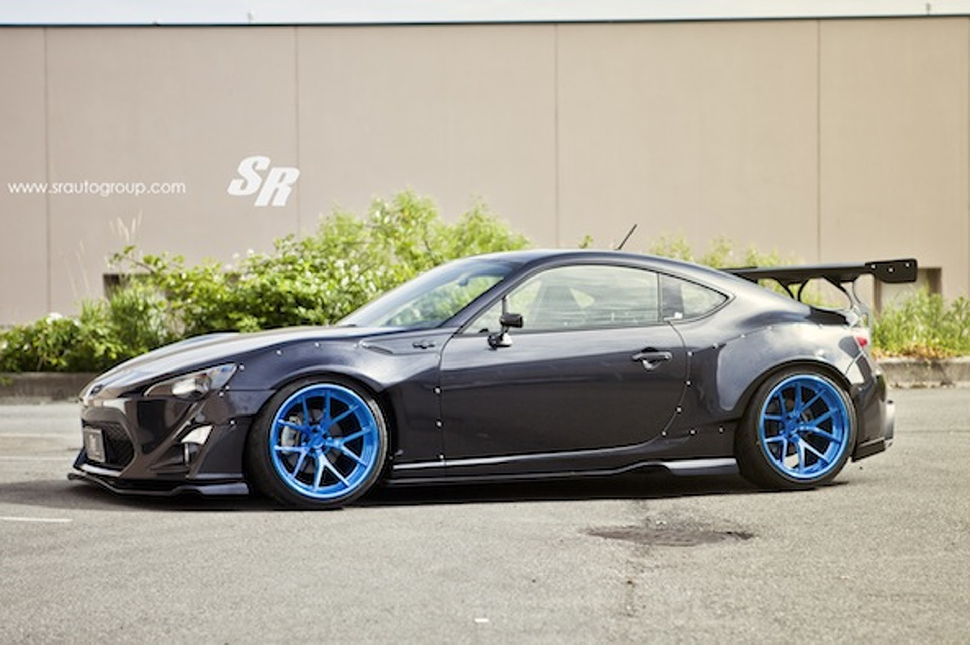 SR Auto Scion FR-S Rocket Bunny II Is a Wild Ride