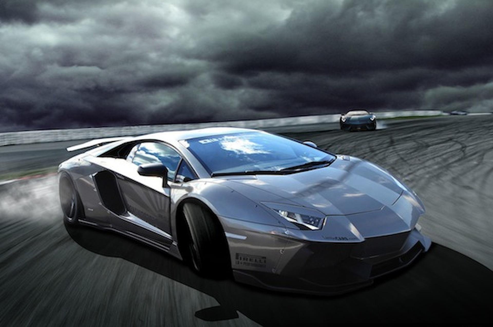 LB Performance Lamborghini Aventador Rendered