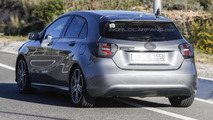 2015 Mercedes-Benz A-Class facelift spy photo