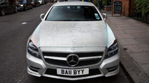 Mercedes-Benz CLS owner pays £20k to cover it with one million Swarovski crystals [video]