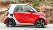 Smart ForTwo by Brabus returns in a revealing set of spy shots