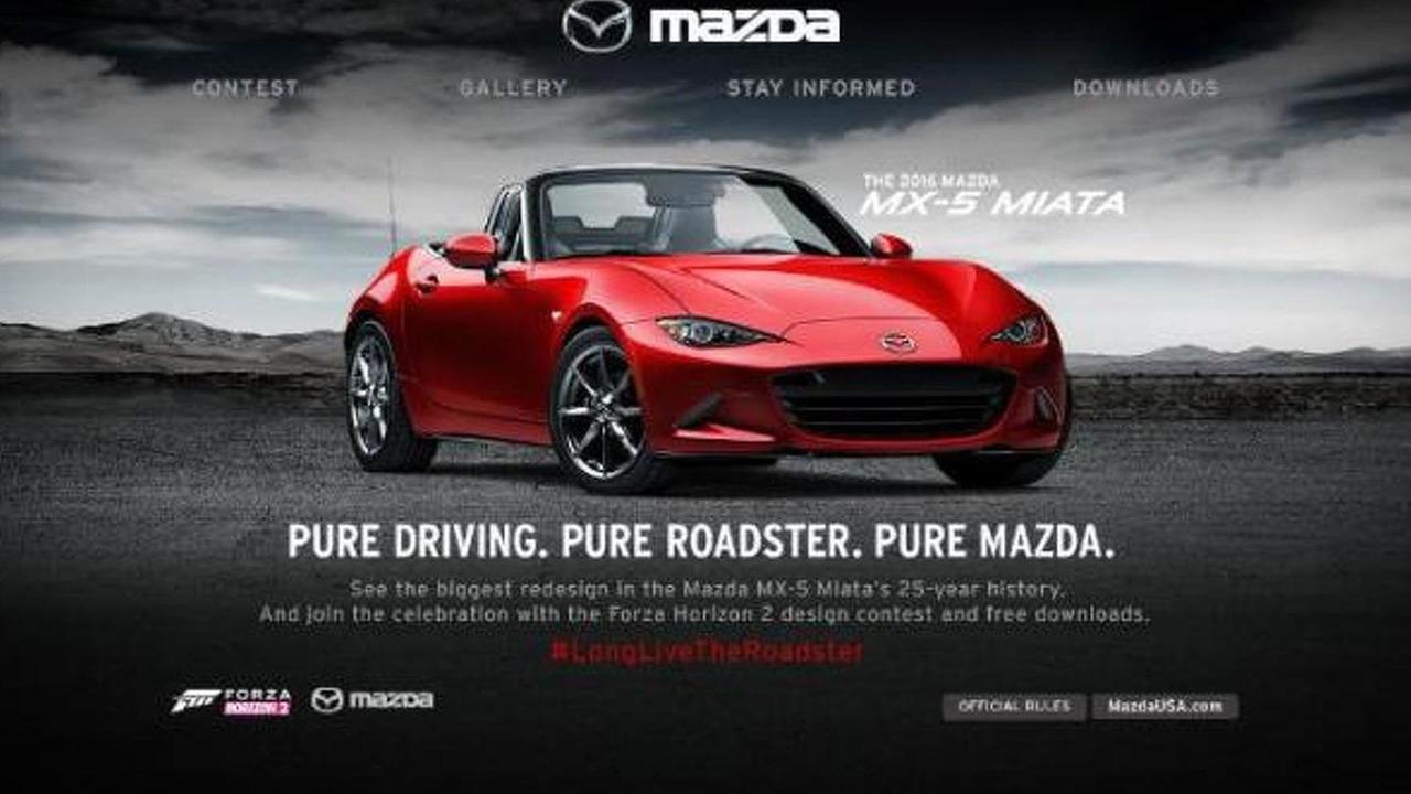 Mazda MX-5 Livery Design Contest