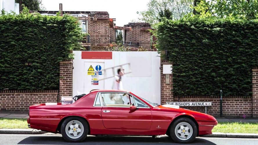 The London Motor Group reveals their Ferrari 412 pickup truck
