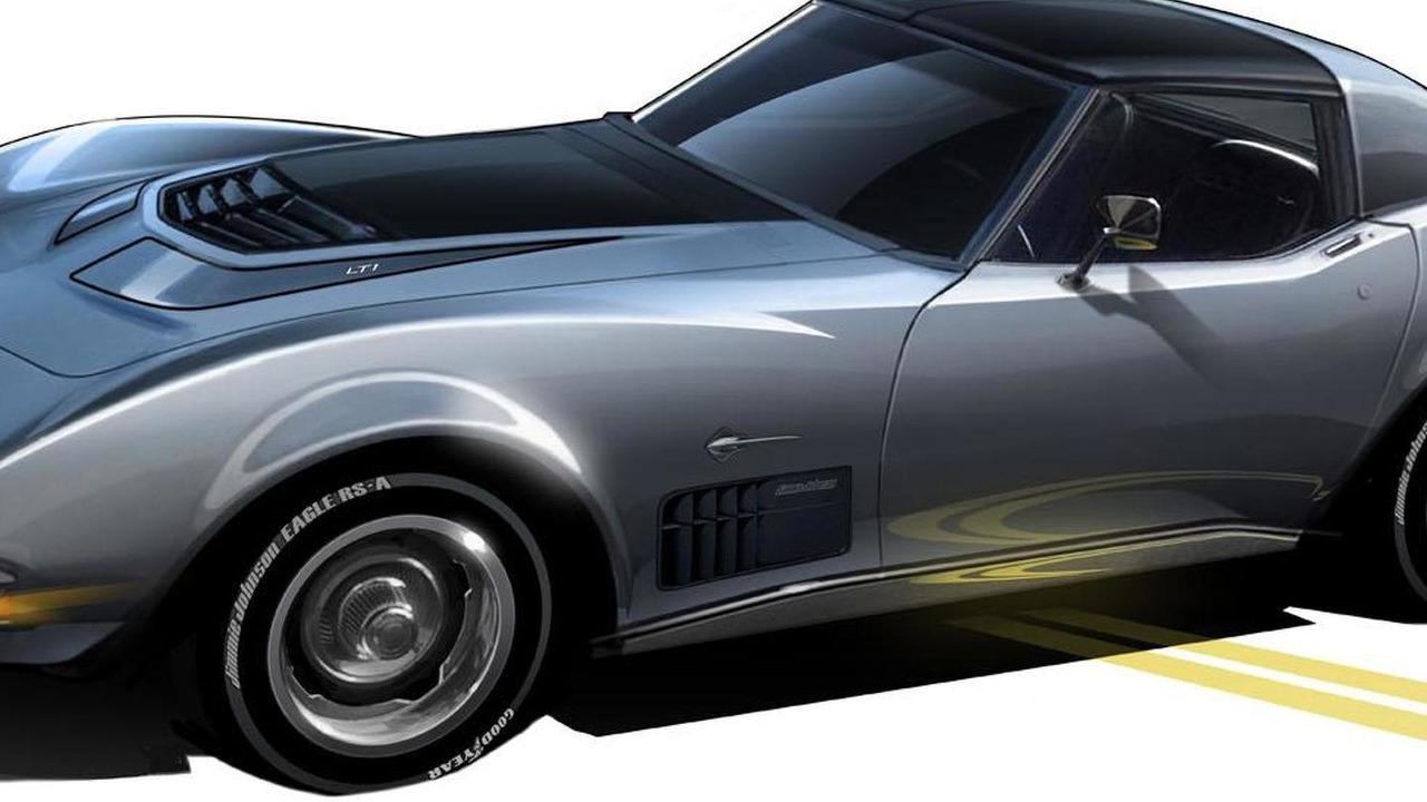 Jimmie Johnson 1971 Corvette