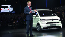 2013 Volkswagen e-Co-Motion concept at 2013 Geneva Motor Show