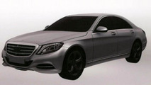 Mercedes S-Class Plug-in Hybrid revealed in new patent photos