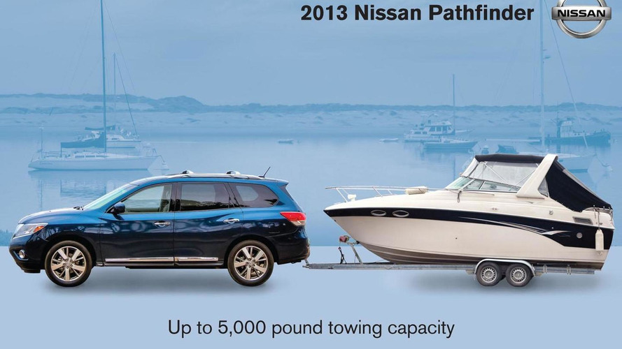2013 Nissan Pathfinder officially revealed [video]