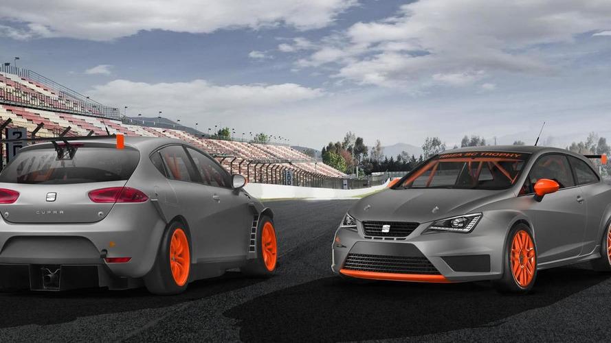 Track-ready Seat Leon Super Copa & Ibiza SC Trophy REVEALED