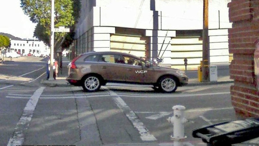 Volvo XC 60 Spied Uncovered First Time Ever