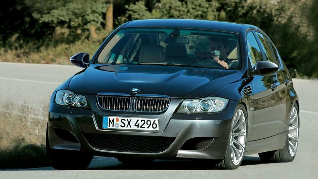 BMW M3 artists rendering