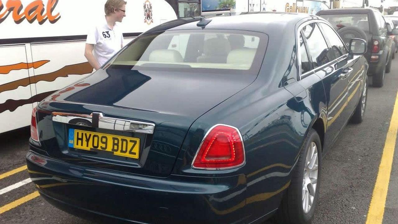 Rolls Royce Ghost Caught Undisguised