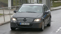 2011 Mercedes C-Class Facelift Latest Spy Photos