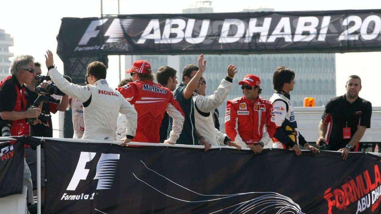 Felipe Massa (BRA), Scuderia Ferrari - Tribute to the Champions, Abu Dhabi, United Arab Emirates, 03.02.2007,