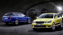 Skoda Octavia facelift vRS