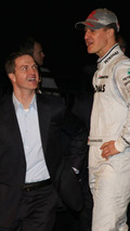 Schu manager dismisses F1 doctor Hartstein's pessimism