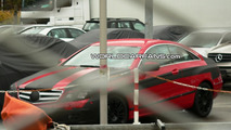 Mercedes E Class Coupe Interior Spied