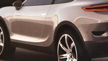 Porsche Cajun renderings leaked?