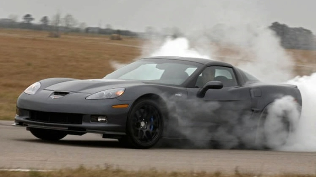 705hp Hennessey Performance Corvette ZR700
