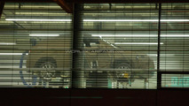 Audi Q3 caught through factory window