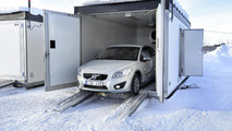 Volvo testing the C30 EV in the worst cold [video]
