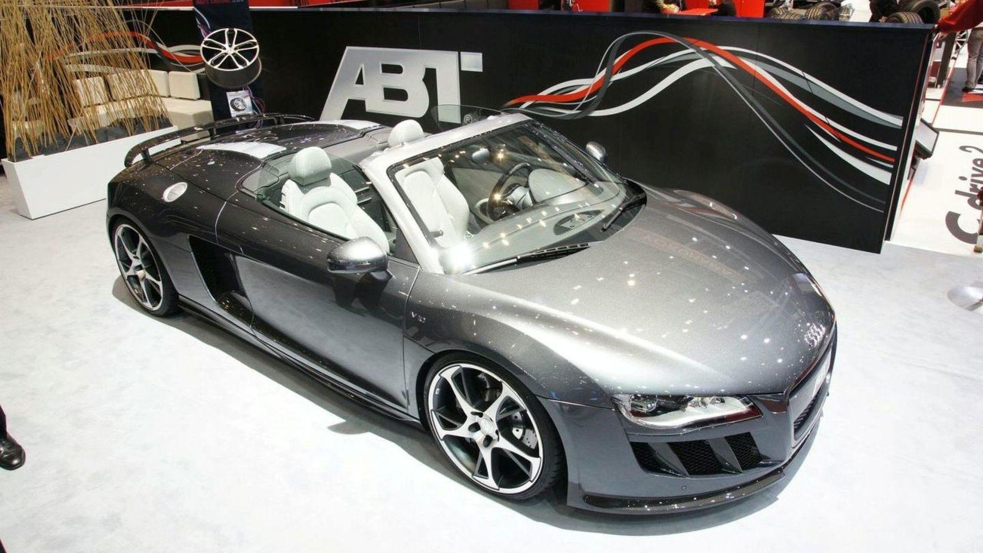 Abt R8 Spyder Revealed for Geneva Motor Show
