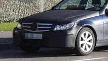 2011 Mercedes C-Class Sedan Facelift Spy Photo